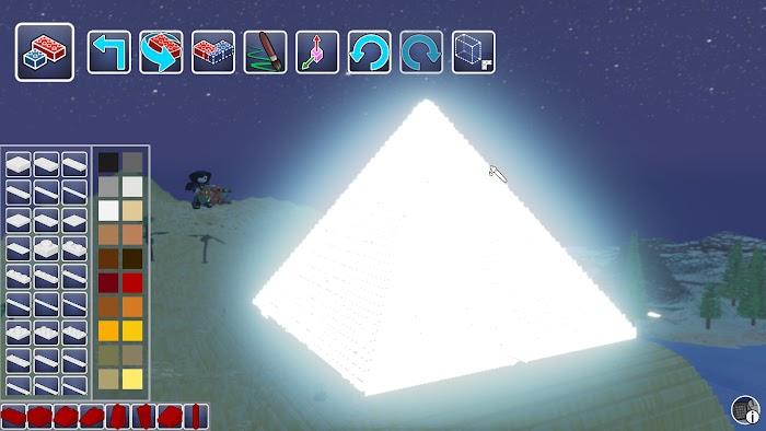 樂高世界 (LEGO Worlds) 螢光顏色使用方法