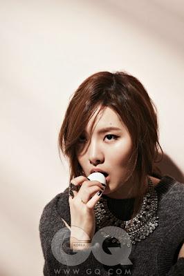 Kim Ye Rim - GQ Magazine November Issue 2013