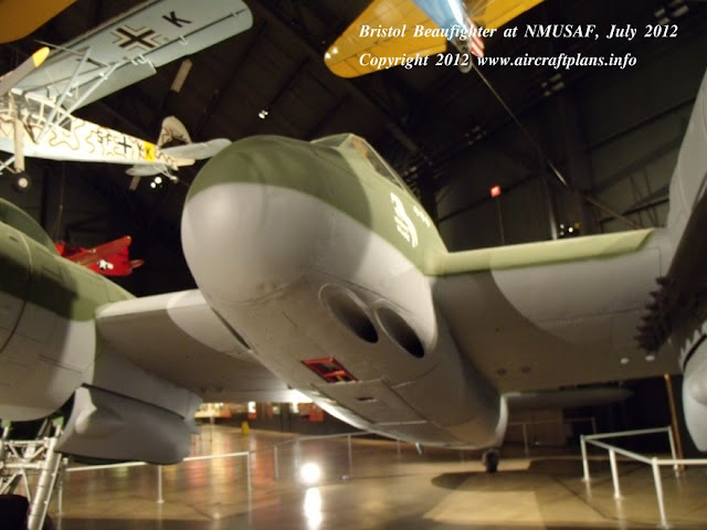 Bristol Beaufighter on display at NMUSAF