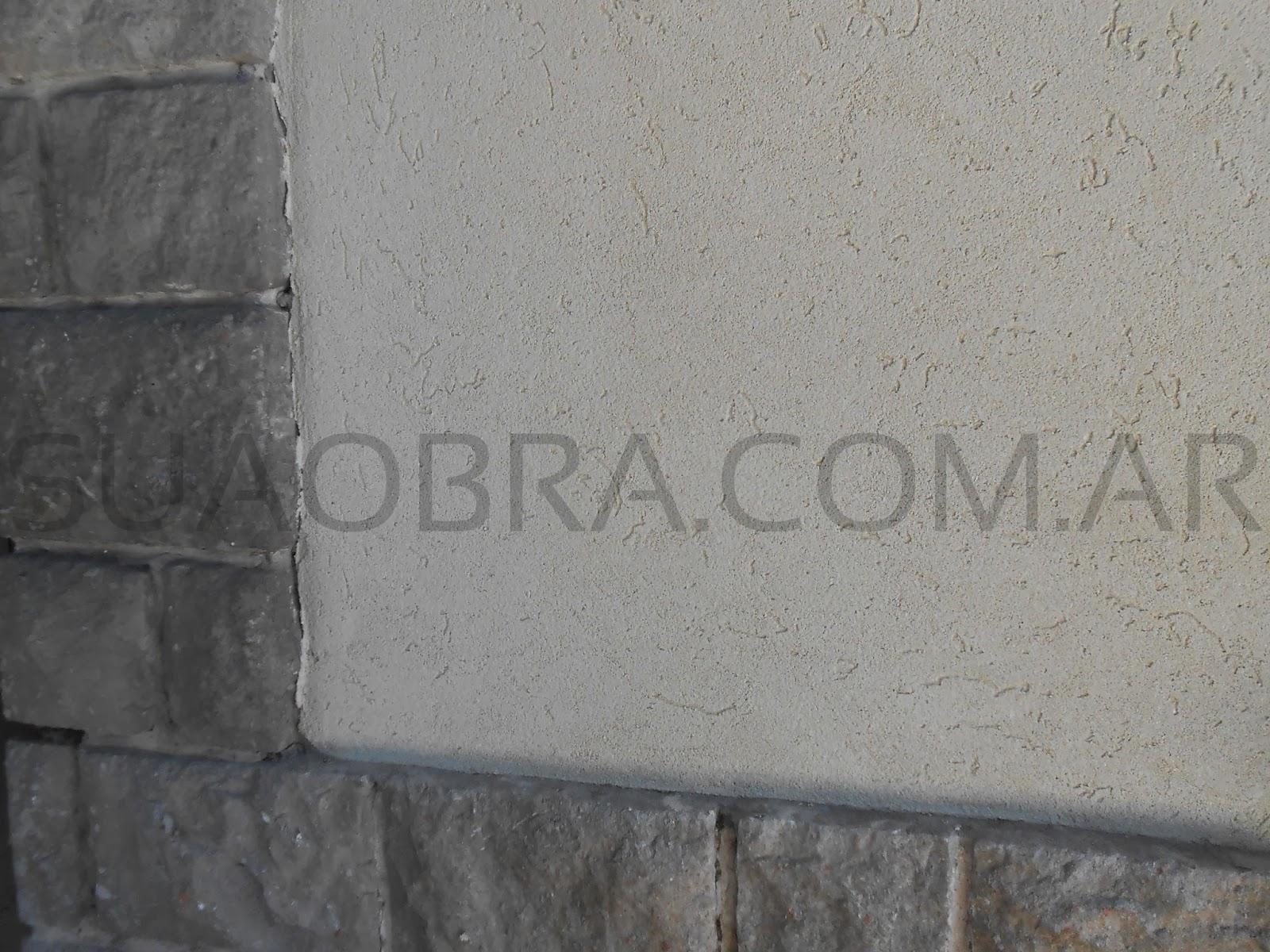 Work in progress suaobra colocaci n de revestimiento - Revestimiento paredes exterior ...