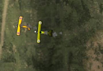 video igrica: dogfighter, pucanje aviona u vazduhu