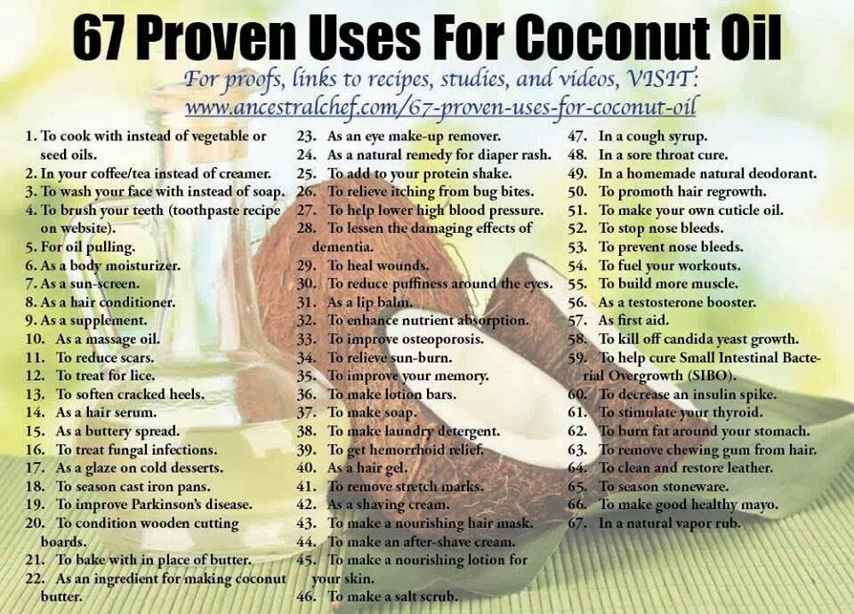 Coconut Oil Uses - 11 Amazing Reasons To Use Coconut Oil Every Day