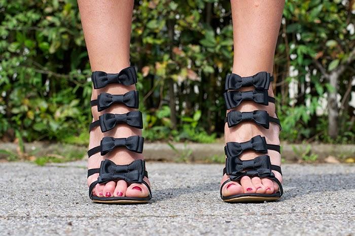 scarpe fiocchi
