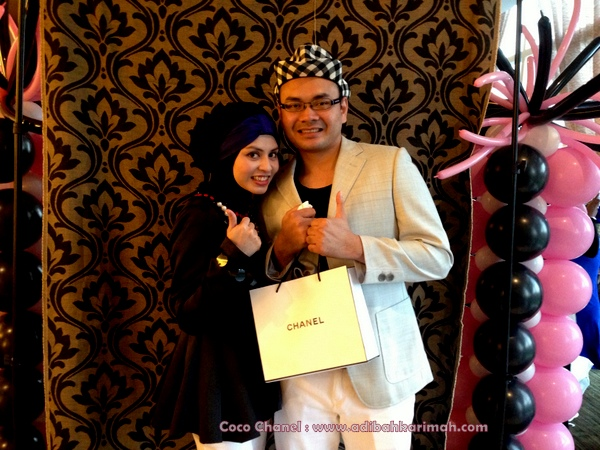 Coco Chanel private party hanis haizi with cdm adibah karimah