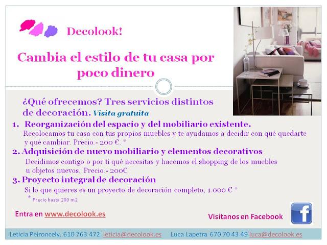 Decolook: Cambia la decoración de tu casa a precios de crisis