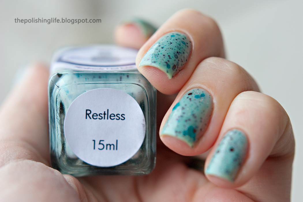 Cadillacquer Restless swatches and review