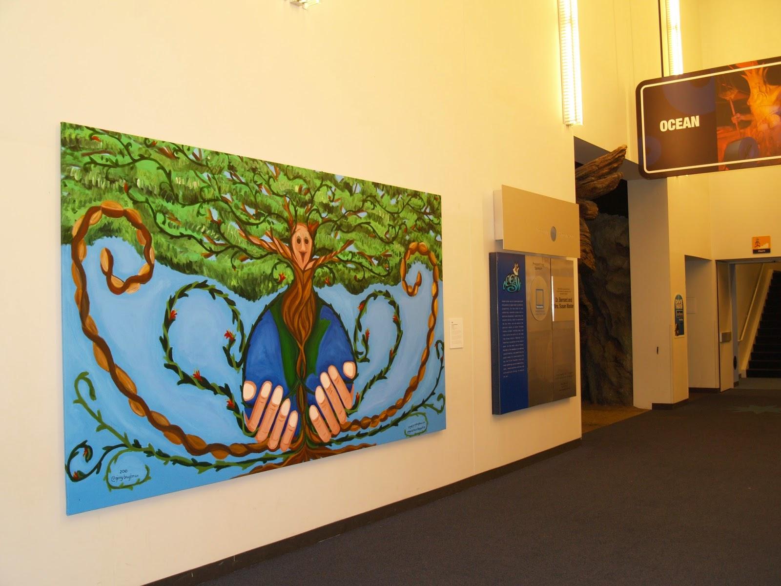 Ginny\'s COSI Mural