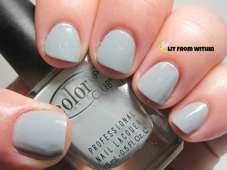 light greyed-out blue - Color Club Sheer Disguise