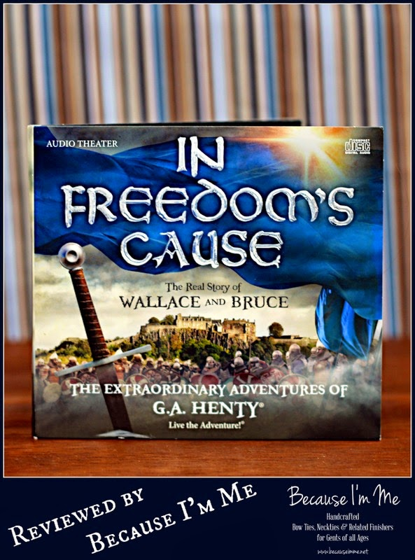 In Freedom's Cause audio drama CD history review at Because I'm Me