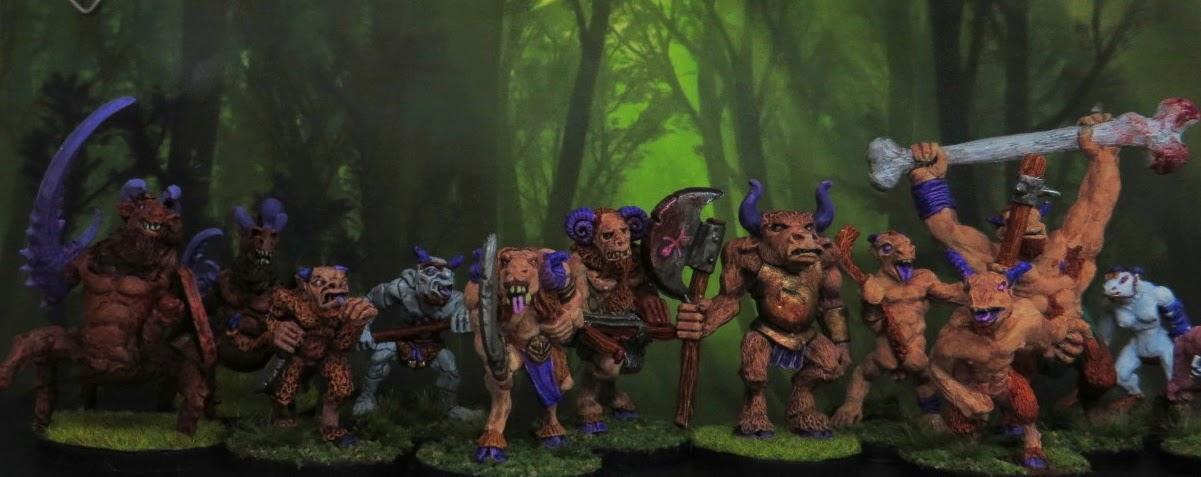 Beastmen, Goatkin, Games Workshop, Citadel, Gargoyles, C48, Fenris Games, Runequest, Broo,