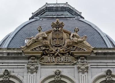 Escudo del Palacio de la Junta General del Principado
