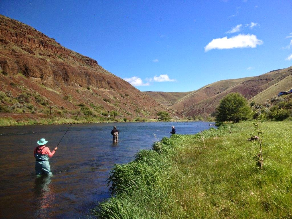 Deschutes river report may 3 2014 water time outfitters for Beginning fly fishing