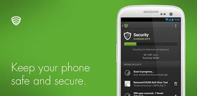 lookout antivirus untuk android