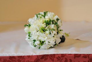 Bouquet de casamento de Charlene Wittstock, flores