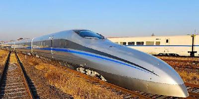 China Luncurkan Kereta Super Cepat Terbaru