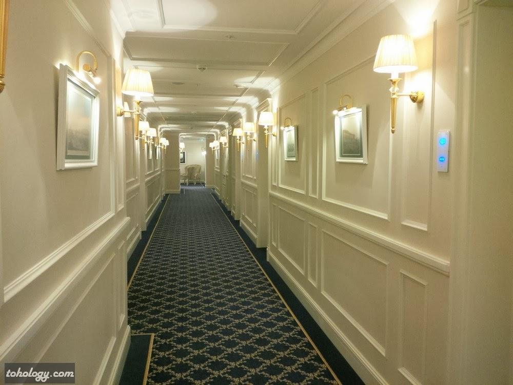 A floor in The Official State Hermitage Hotel // Один из этажей в Официальной Гостинице Государственного Эрмитажа