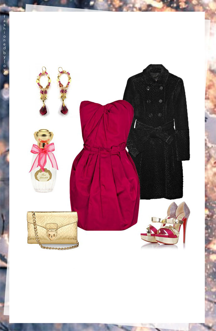 via fashioned by love | outfit idea for valentine's day
