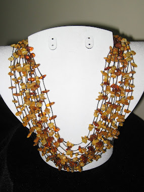 Knotted Amber necklace