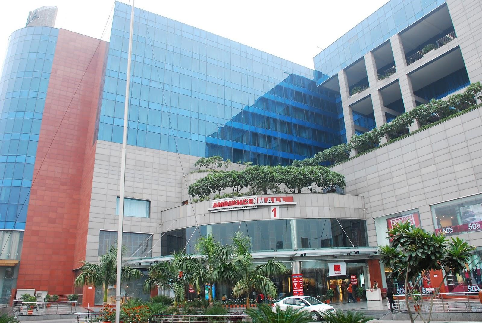 Ambience Mall Gurgaon India Travel Blog
