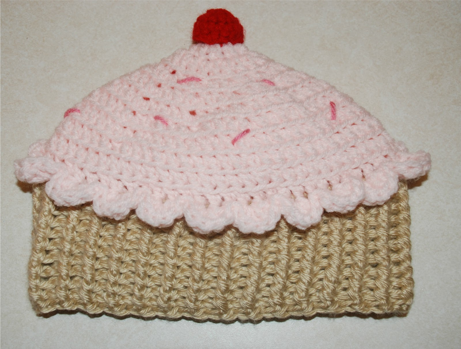 Crochet pattern for baby cupcake hat dancox for amys crochet creative creations crochet cupcake hat all bankloansurffo Images