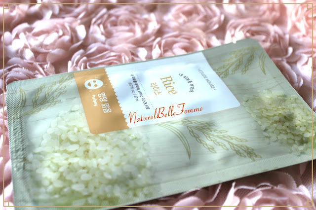 Etude house Rice Sheet mask