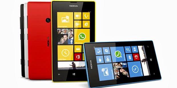 Ponsel Nokia Lumia 520 Dibanderol Rp 2 Jutaan