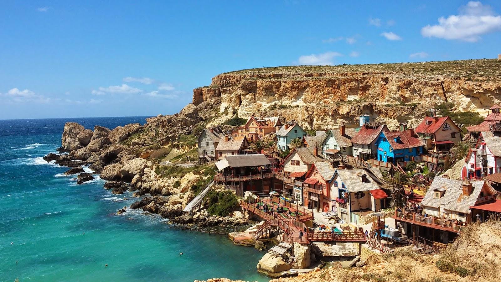 Wioska Popeya, Zatoka Anchor, Malta