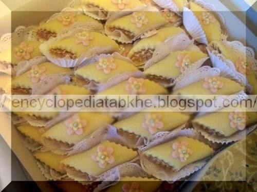 El Kefta (gâteau en pate d'amande et farce)