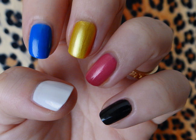 uk style and fashion blog mavala techni-color collection swatches