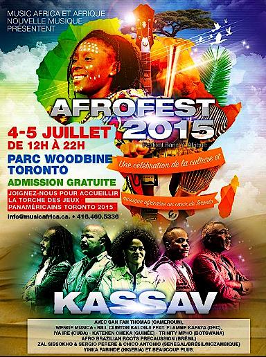 AfroFest 2015 @ Woodbine Park, Saturday & Sunday