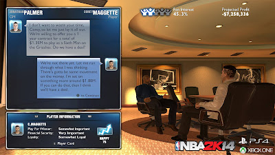 NBA 2K14 Next-Gen MyGM