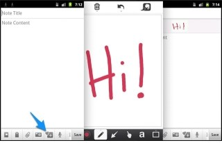 Evernote Android app updated with Skitch integration, offline search and Slideshow view