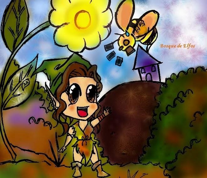 Bosque de Elfos Chibi