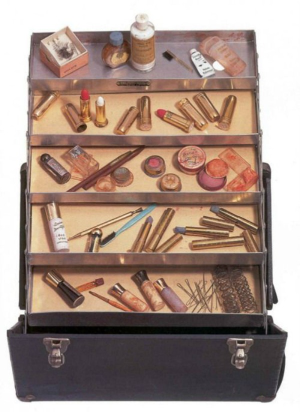 Caixa de maquiagem da Marilyn Monroe