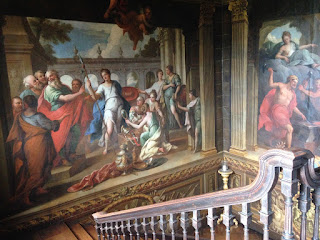 Hanbury Hall staircase