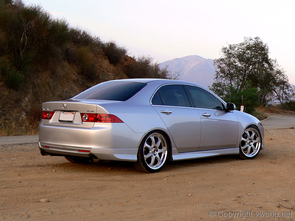Car Modification Honda Accord Cl9