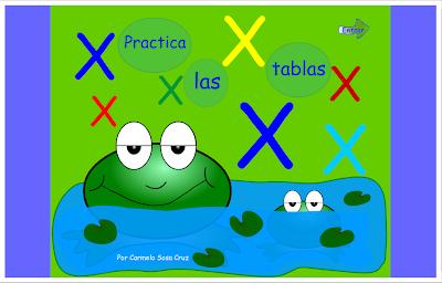 Practica las tablas de multiplicar, Matemáticas