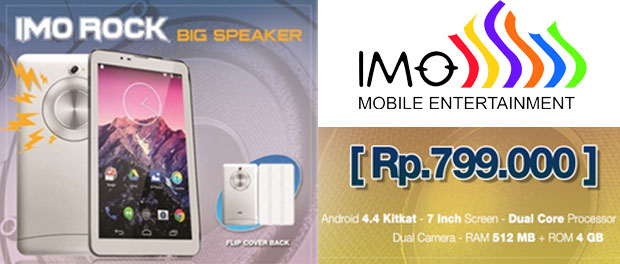 IMO Rock, Tablet Android Dual Core Dual SIM Rp800 ribuan