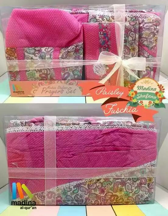 prayer set madina, prayer set madina murah, prayer set madina shfana murah, jual prayer set madina, jual prayer set madina shafana, harga prayer set madina, harga prayer set madina shafana, prayer set pink