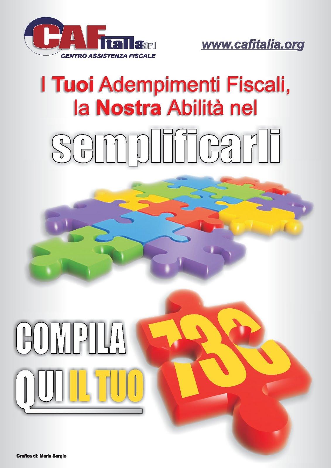 Caf italia srl patronato epas trani - Termine presentazione 730 ...