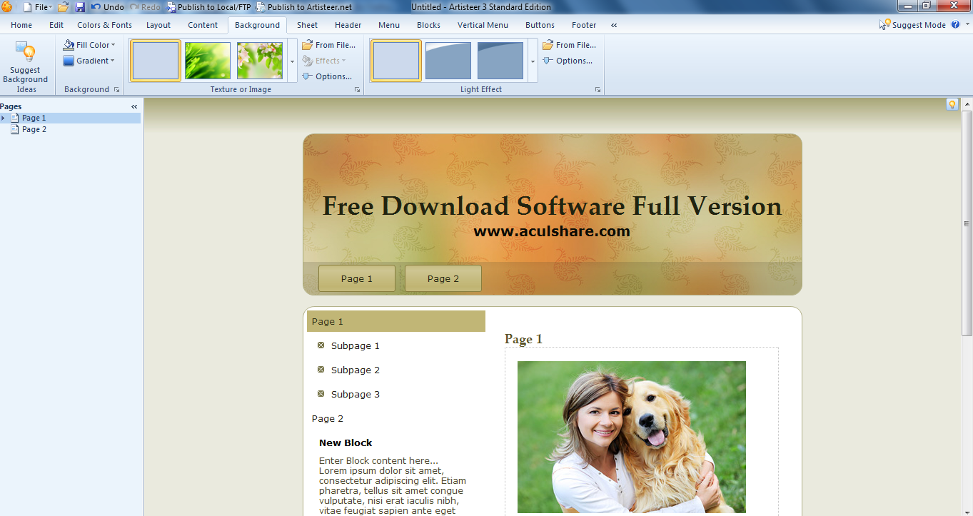 Download: Artisteer 3.1.0.46558 Full Version, Downloads Found: 12, Includes