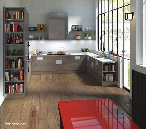Arquitectura de Casas: Remodelación de la cocina.