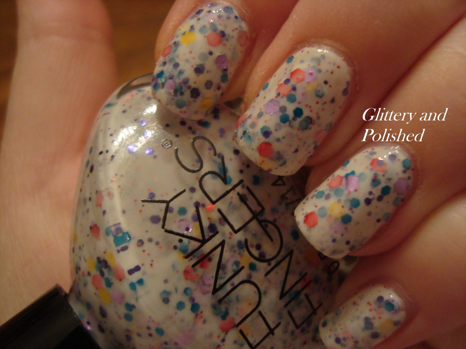 Glittery and Polished: Try the Untrieds: Funky Fingers Jawbreaker!