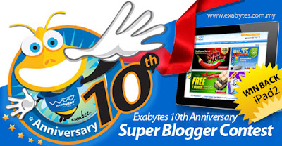 Exabytes Super Blogger Contest