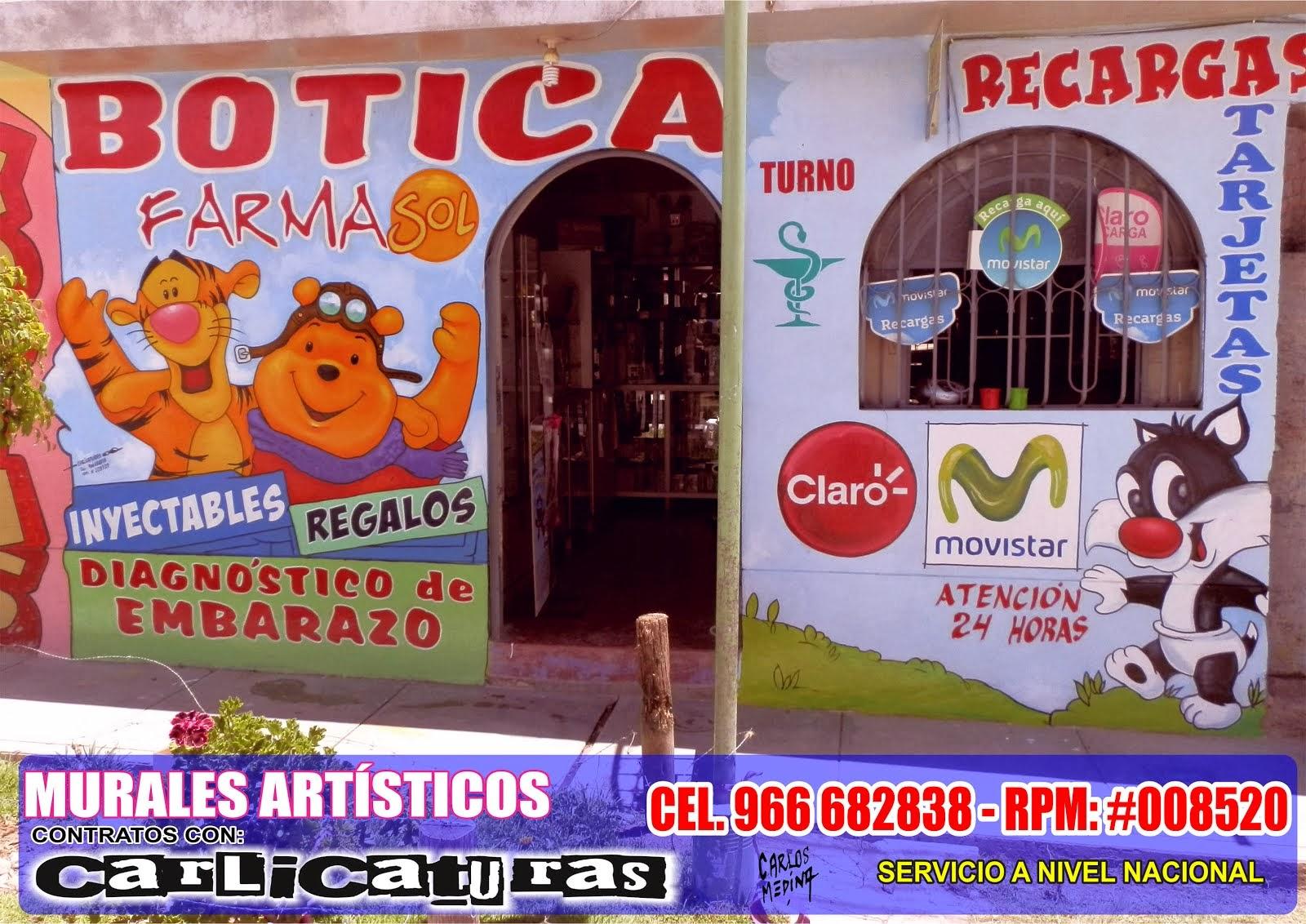 PINTURA MURAL DE PUBLICIDAD EN AYACUCHO PERÚ