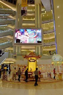 Shopping mall on Wangfujing in Beijing