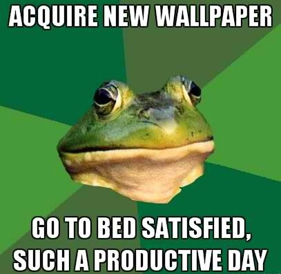 Acquire new Wallpaper - Go To bed Satisfied - Such A Productive Day