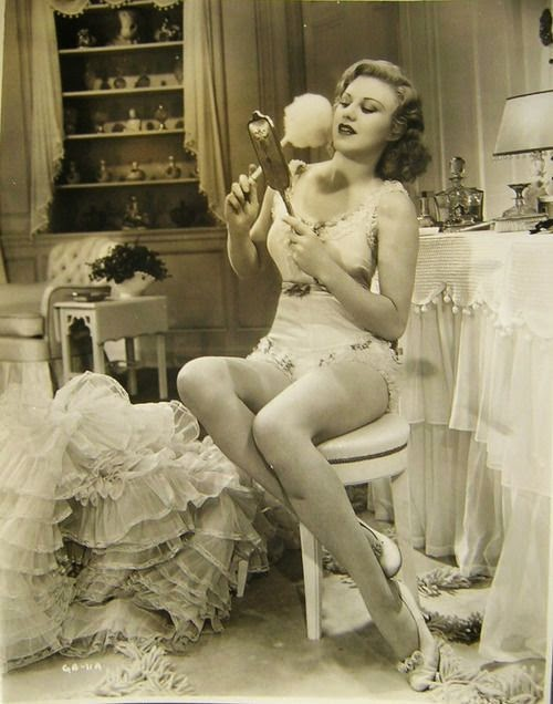 The talented ginger rogers lingerie