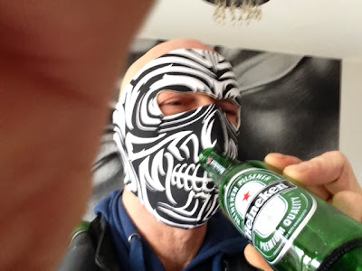 tribal moko face mask