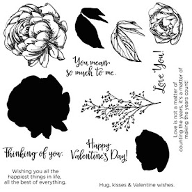 "January 2016 - Stamp of the Month - ""Beloved Bouquet"""